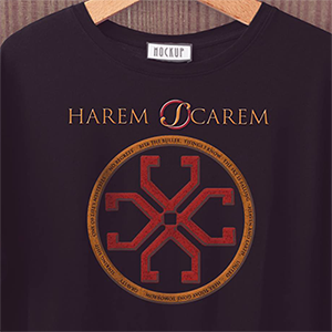 Designing the Tour T-Shirt for HAREM SCAREM